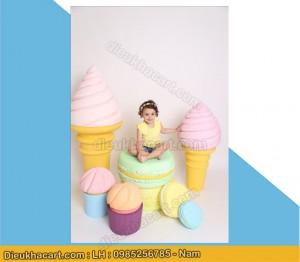 Mô hình bánh kẹo, kem, siêu đẹp chụp ảnh tại hà nội