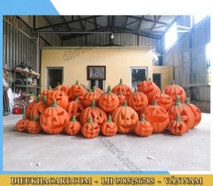 Mô hình xốp mút bí ngô 3d trang trí halloween tại điêu khắc art
