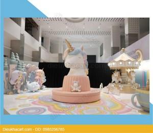 Mô hình xốp mút 3dsetup trang trí sinh nhật