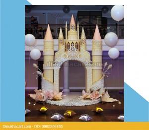 Mô hình xốp mút 3d lâu đài trang trí sự kiện sinh nhật