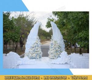 Mô hình xốp mút 3d cánh thiên thần trang trí đám cưới